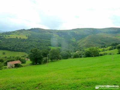 Senderismo Valles Pasiegos, Cantabria; viajes enero excursiones madrid y alrededores rutas faciles s